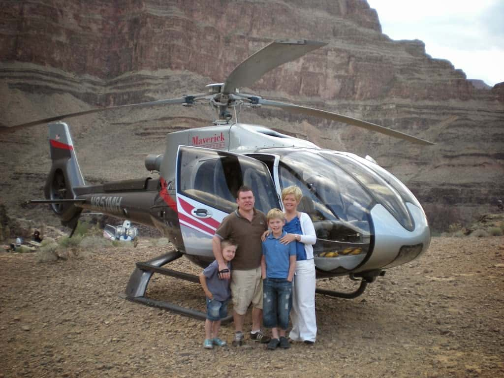 We booked our Grand Canyon trip from a ticket shop on the Las Vegas strip; to be honest it was so overwhelming