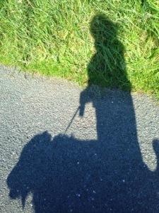 100 Happy Days, Day 84, My Shadow.