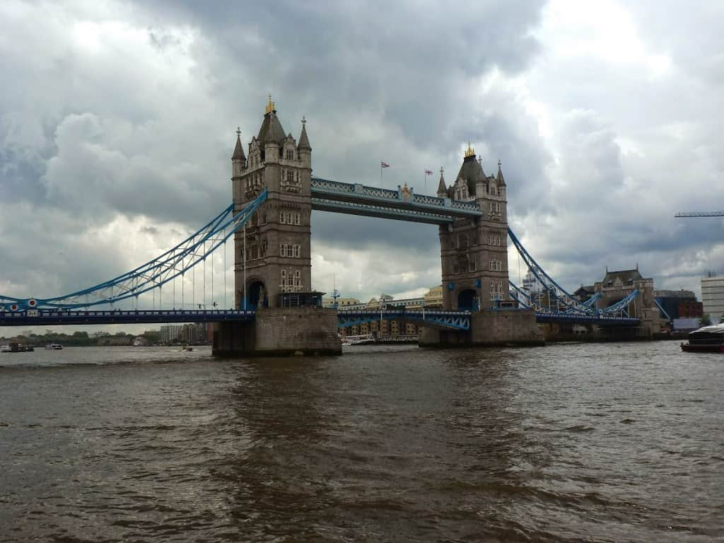 The beautiful  Tower Bridge