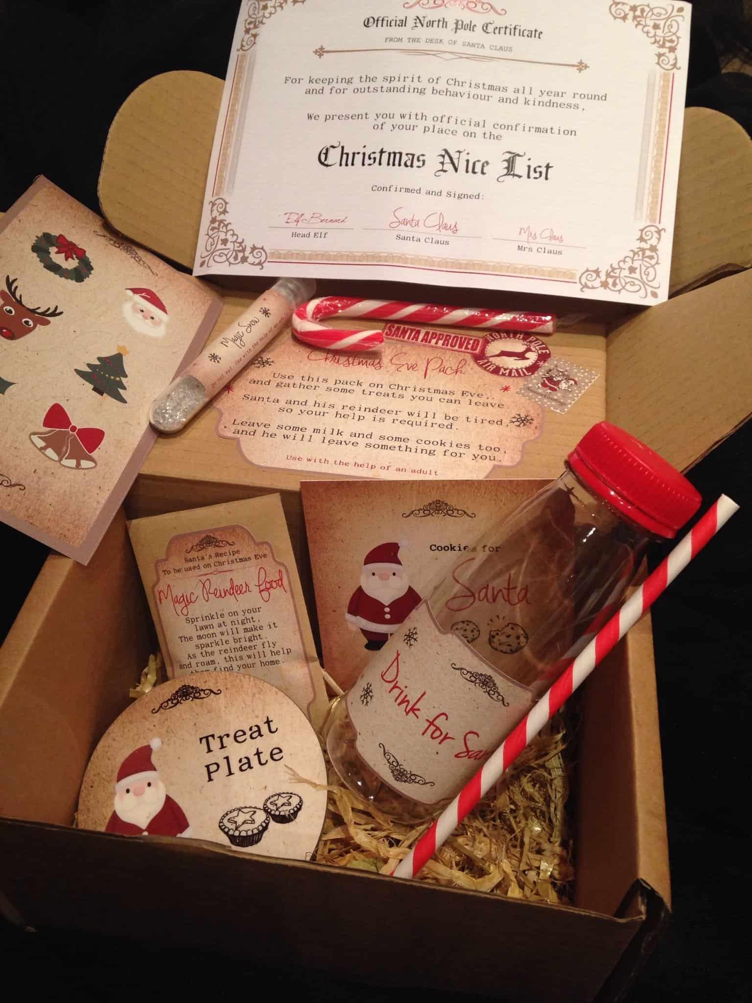 The Festive Studio, Christmas Eve Box