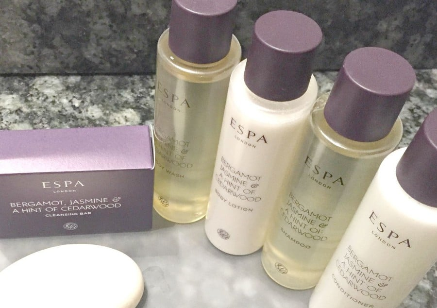 Aldwark Manor Q Hotel York , Spa Hotel, Afternoon Tea, and great for family breaks , Espa In room Products
