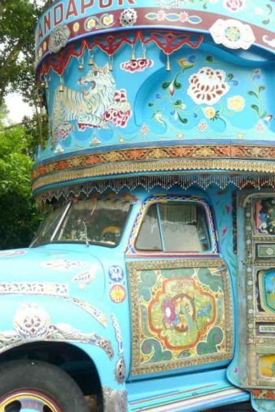 A drinks truck at Animal Kingdom, Walt Disney World