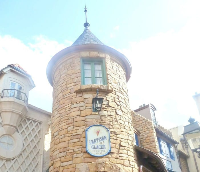 The very beautiful Paris, at Epcot at Walt Disney World