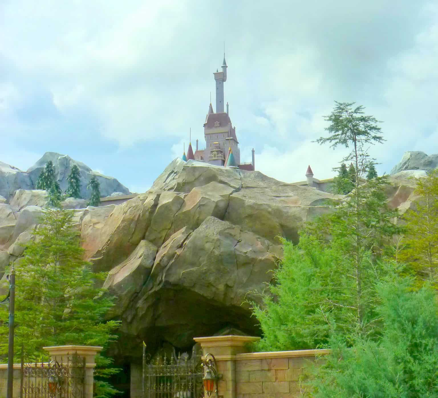 The Beasts Castle At Magic Kingdom, Disney World, With Teens And Tweens www.extraordinarychaos.com