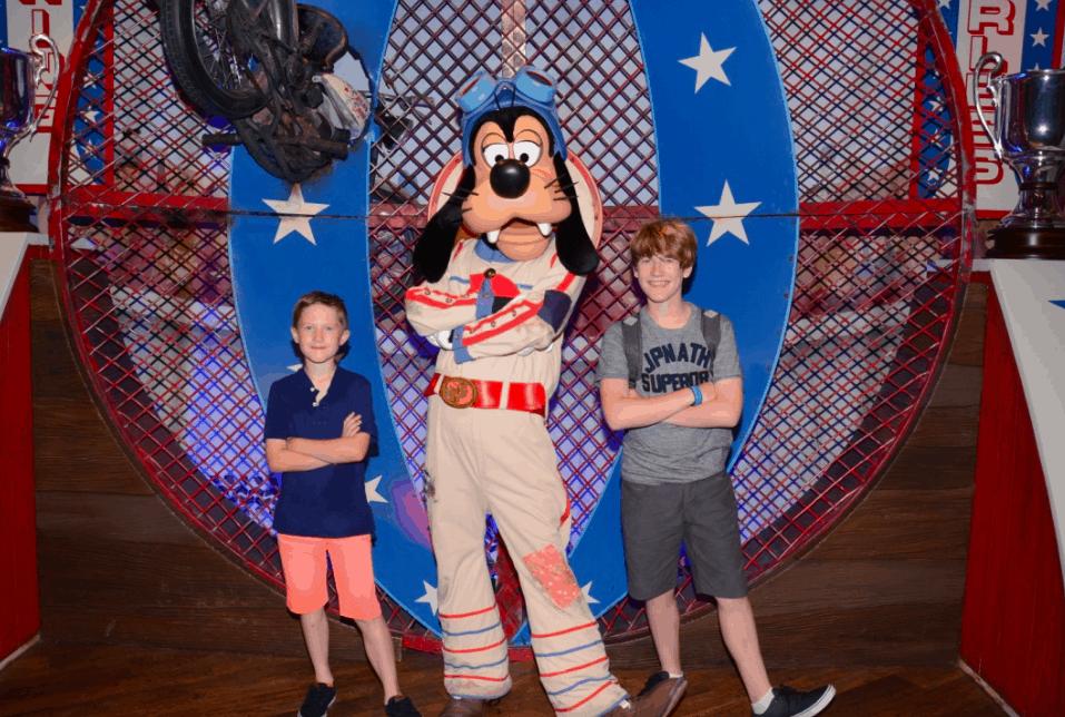 Meeting Pluto at Magic Kingdom, Disney World, With Teens And Tweens www.extraordinarychaos.com