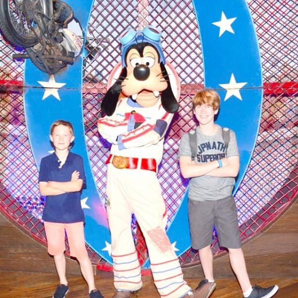 Goofy and Disney My Captured moment