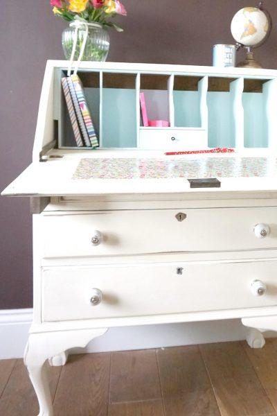 My Vintage Desk Make Over