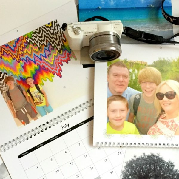 Snapfish calendar, creating family memories 1