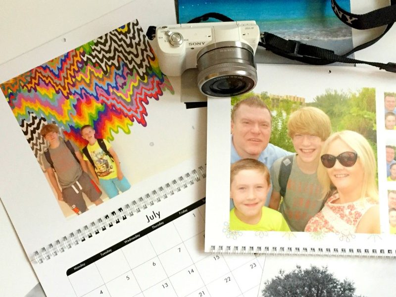 Snapfish calendar, creating family memories 1