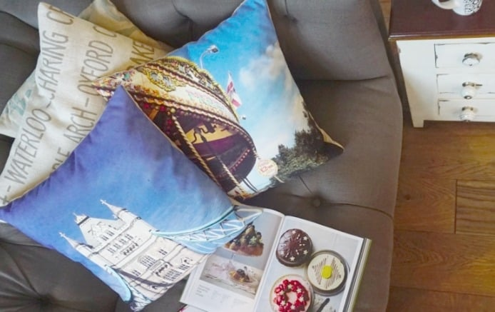Adding A Personalised Touch To Home Decor with Snapfish Cushions