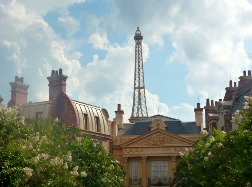 Paris in the round the world showcase www.extraordinarychaos.com