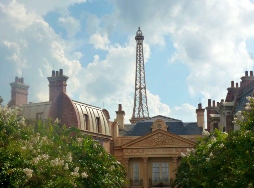 Paris in the round the world showcase www.extraordinarychaos.com