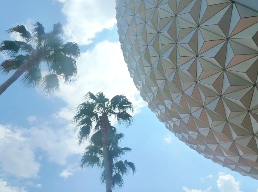 The Epcot Globe and Money Saving Tips When Visiting Walt Disney World, extraordinary chaos.com