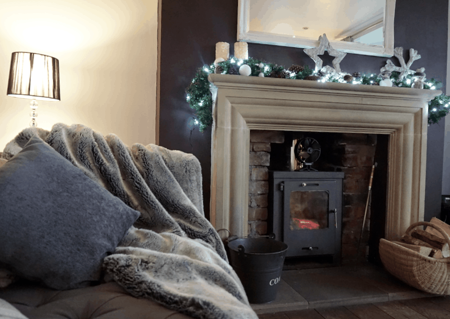 Festive Fireplace Inspiration