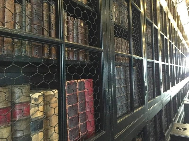 Chetham's Library was founded in 1653 and is the oldest public library in the English-speaking world.