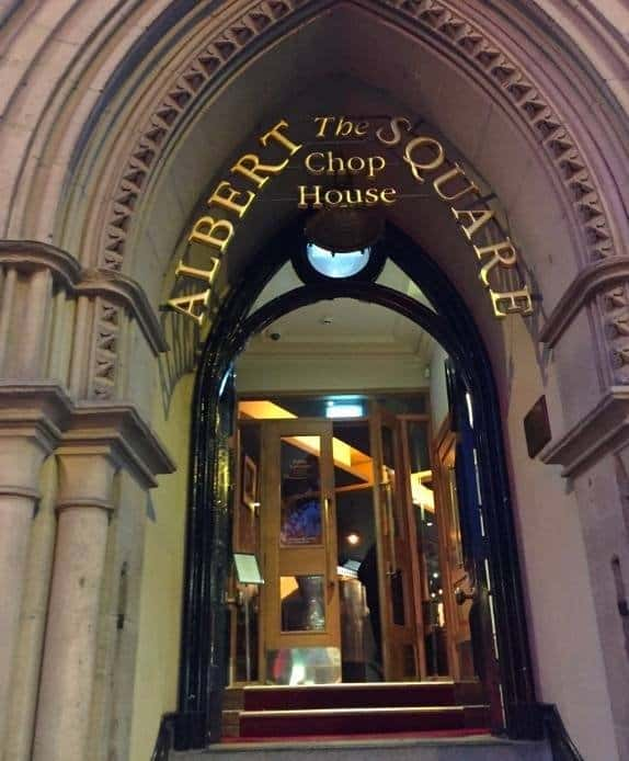 Manchester in 48 Hours , Albert Square Chop House
