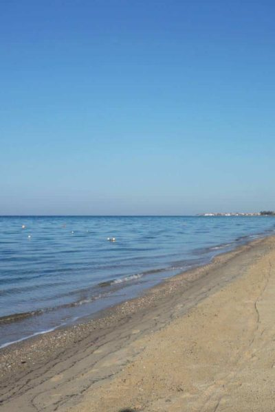 A Morning Walk On The Beach In Greece