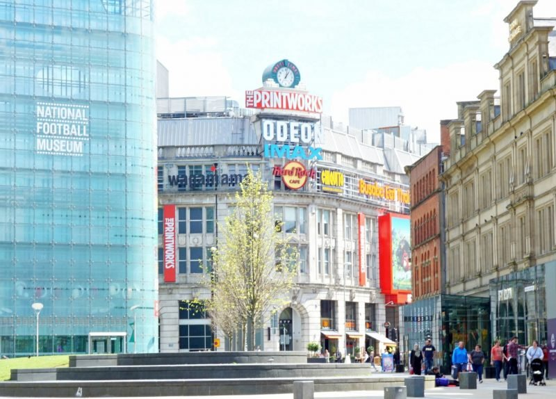 My Captured Moment and a Family Afternoon in Manchester at the Printworks