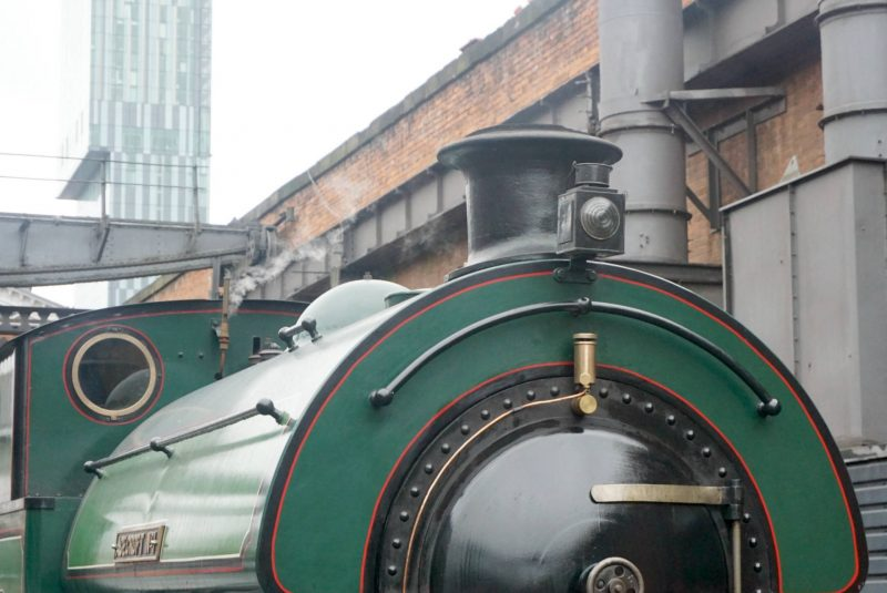 My Sunday Photo, The Steam Hall At MSI