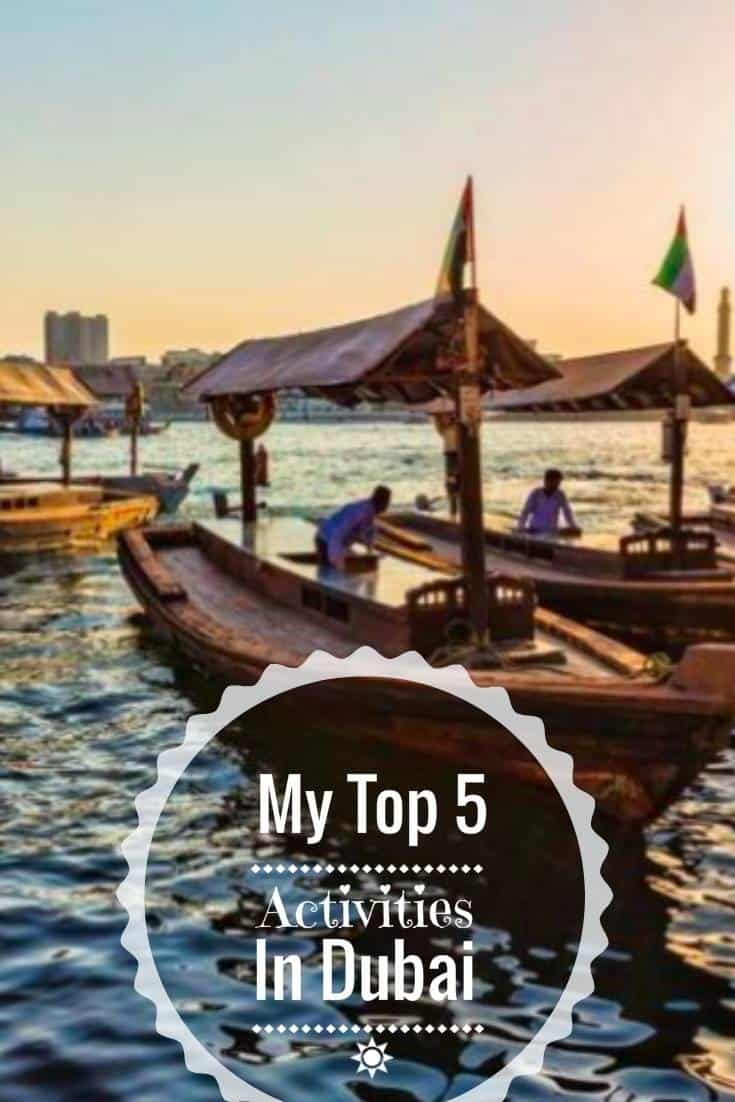 Dreams of Visiting Dubai and A Little Wish List