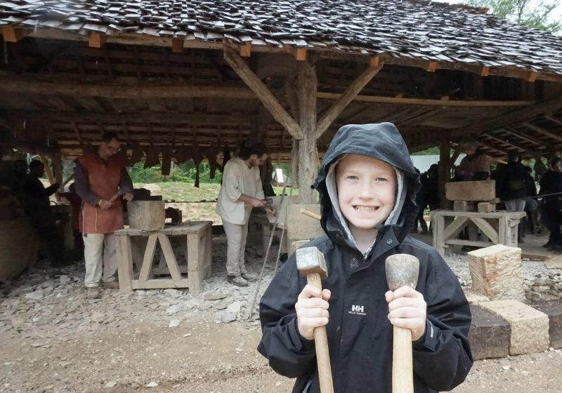 Being Part of Living History At Guedelon Castle