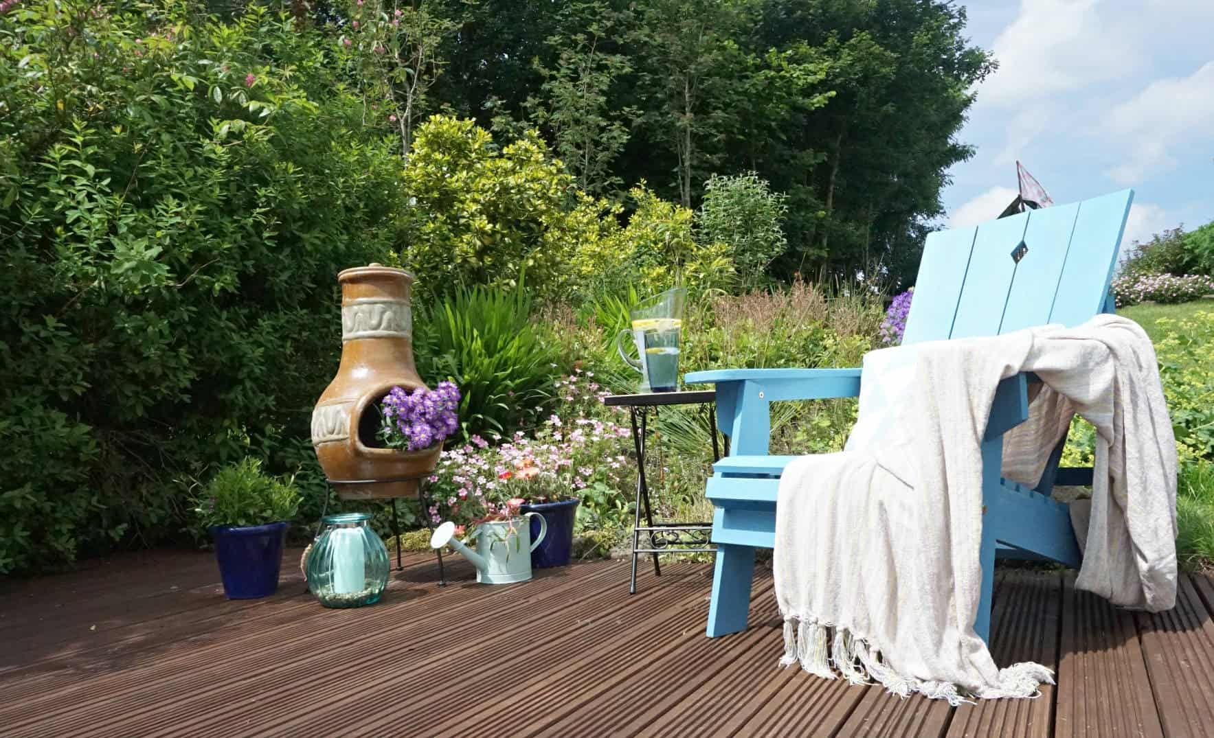 Creating A Garden Chill Space with TK MAXX