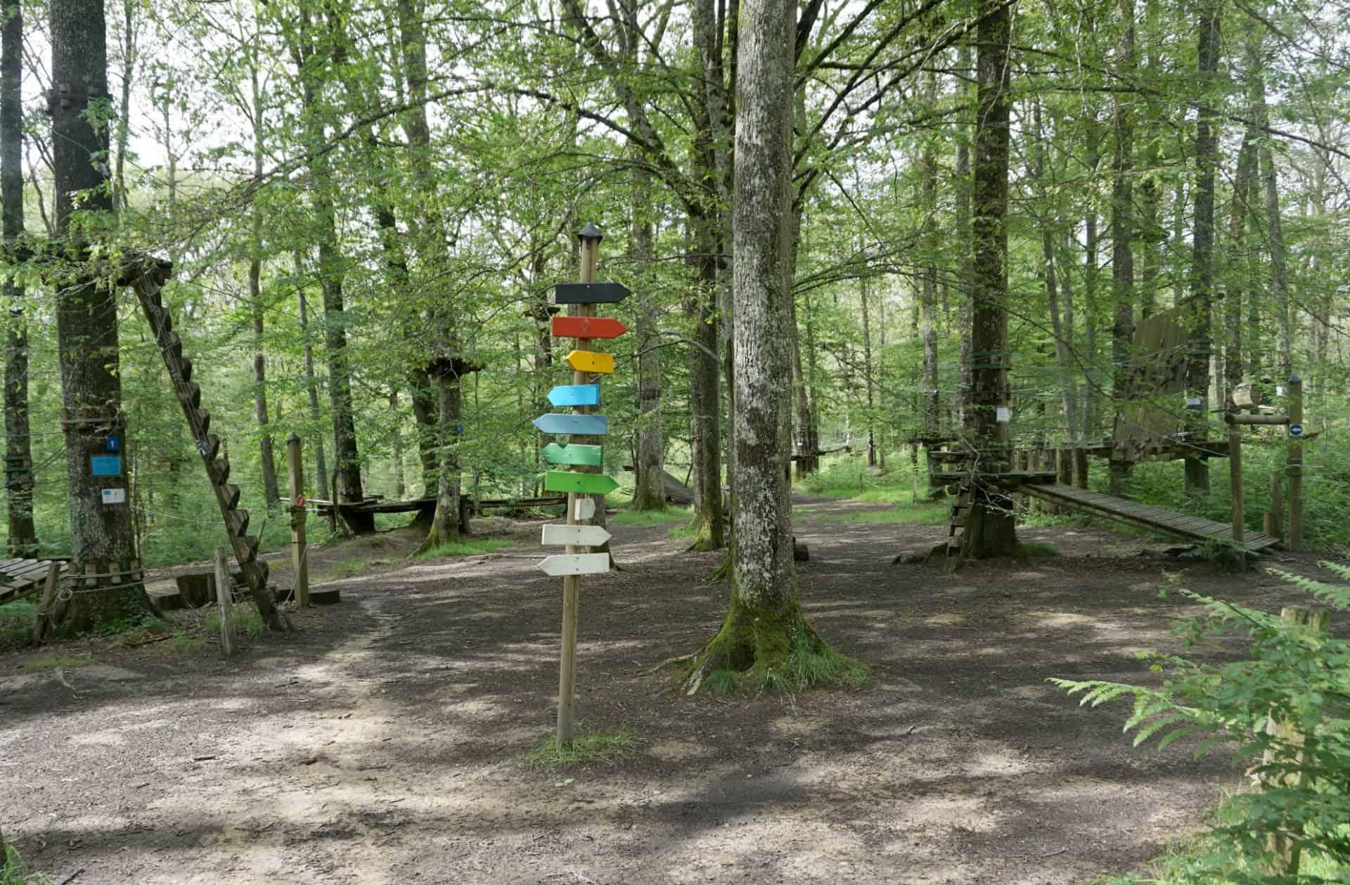 My Captured Moment, Accrobranche, Parc du Bois de la Folie a