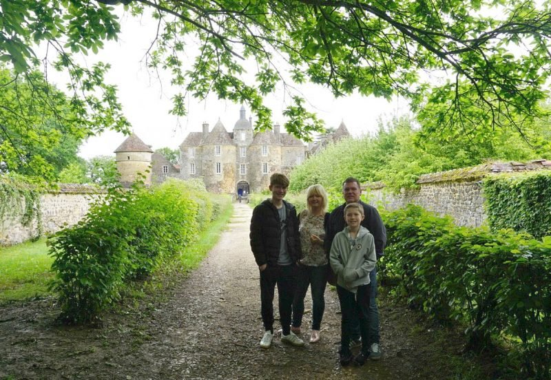 Me and Mine May 2016, Chateau Ratilly