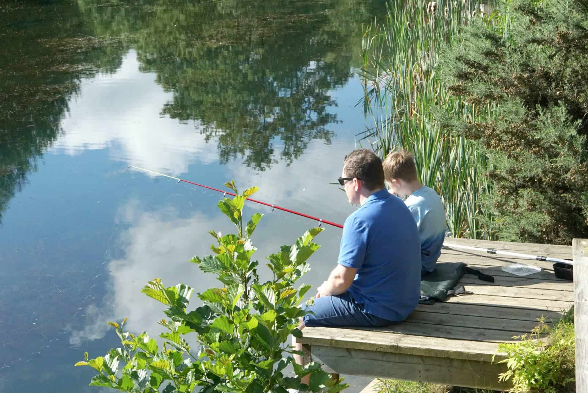 My sunday photo, fishing at brompton lakes f