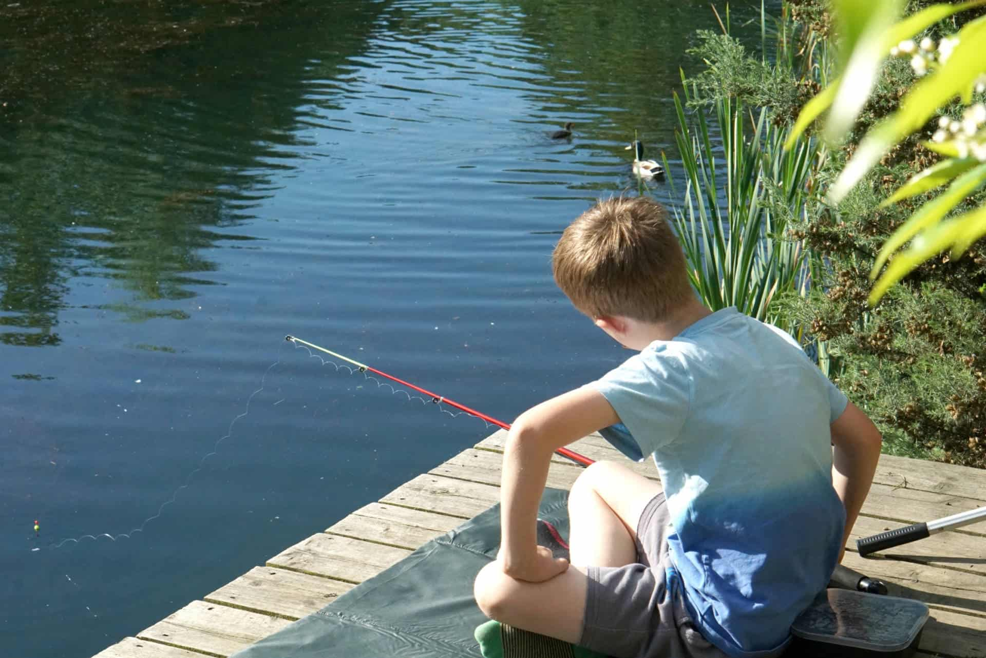 My Sunday Photo, Fishing At Brompton Lakes