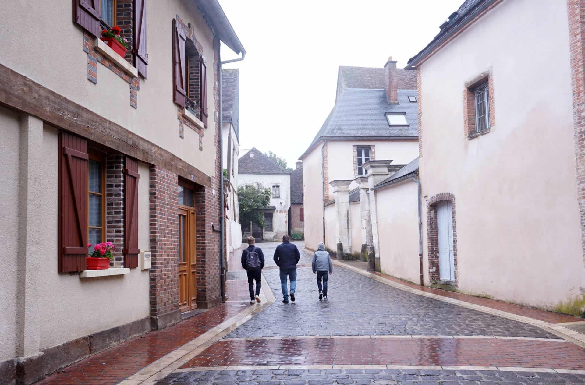 My Sunday Photo, Saint-Fargeau, A Quintessential French Village