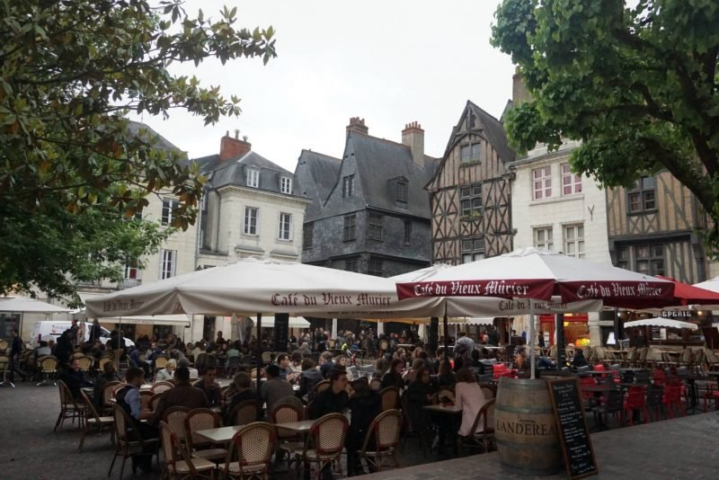 Place Plumereau in Tours, Loire Valley