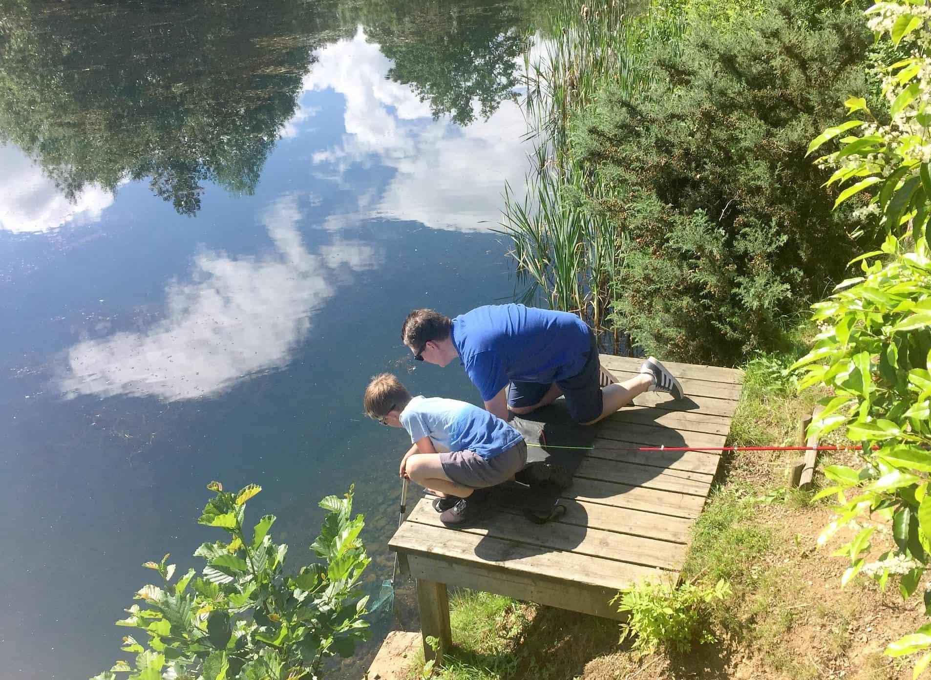 Enjoying Tranquility at Brompton Lakes a
