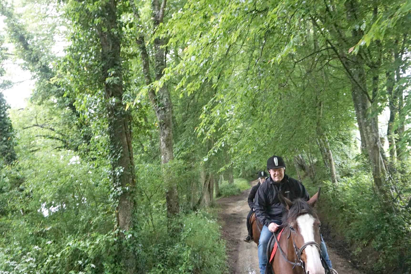 Horse Riding In Burgundy