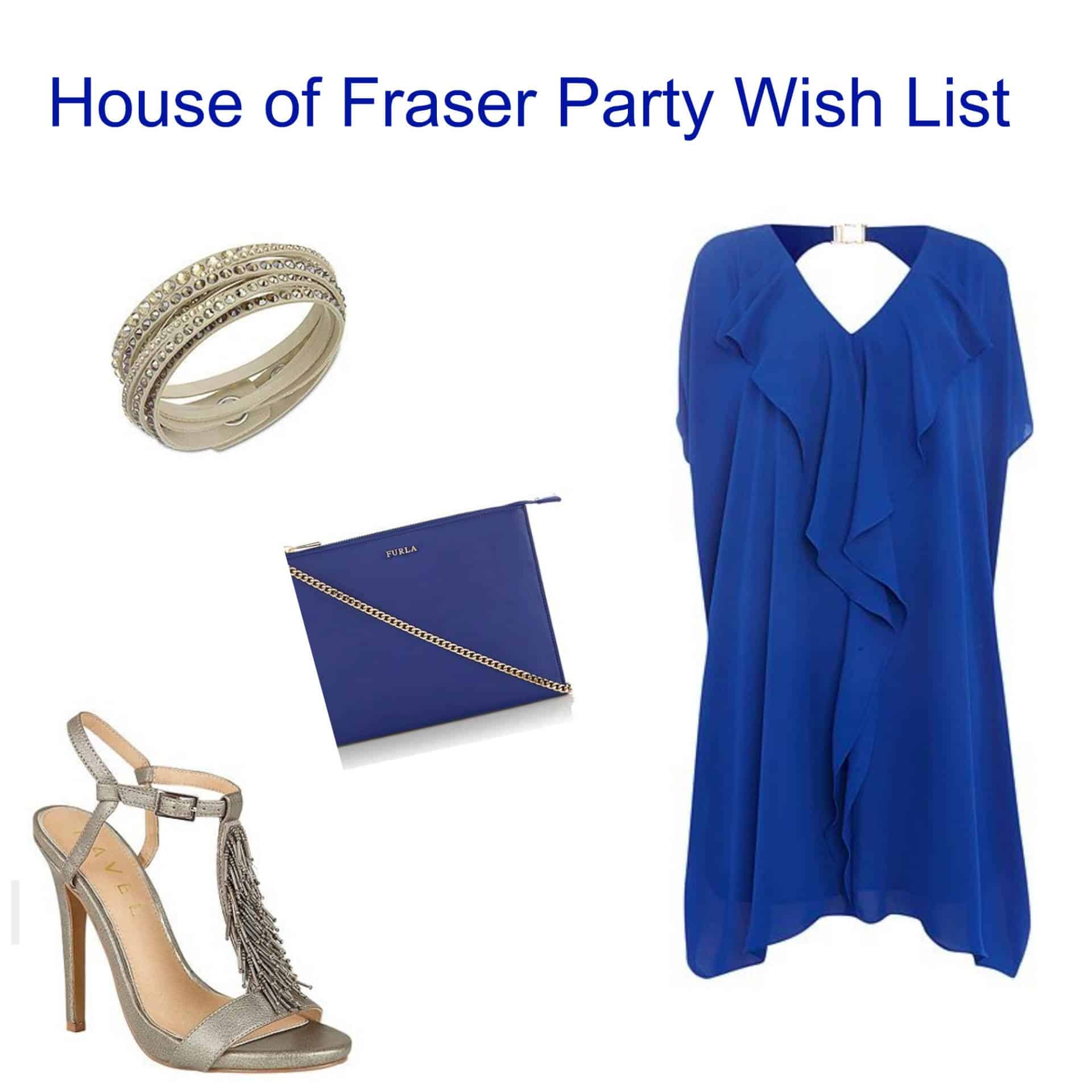 House Of Fraser Summer Party Wish List