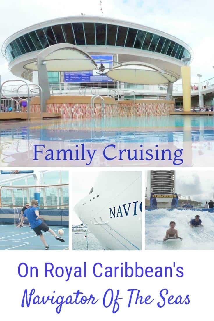 The Navigator Of The Seas, With Royal Caribbean