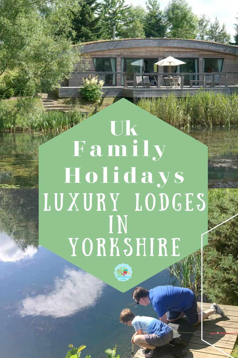 Tranquil Luxury Lodges in Richmond Yorkshire for family holidays around a fishing lake