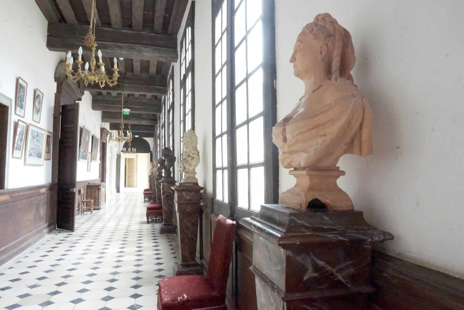Visiting Chateau de Saint Fargeau c