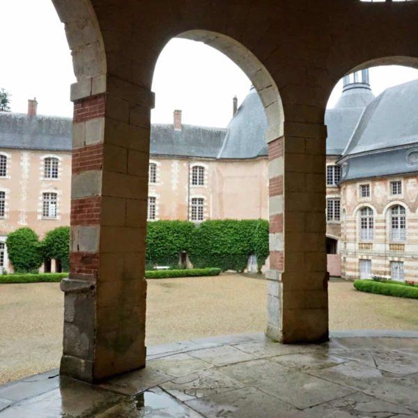 Visiting Chateau de Saint Fargeau l