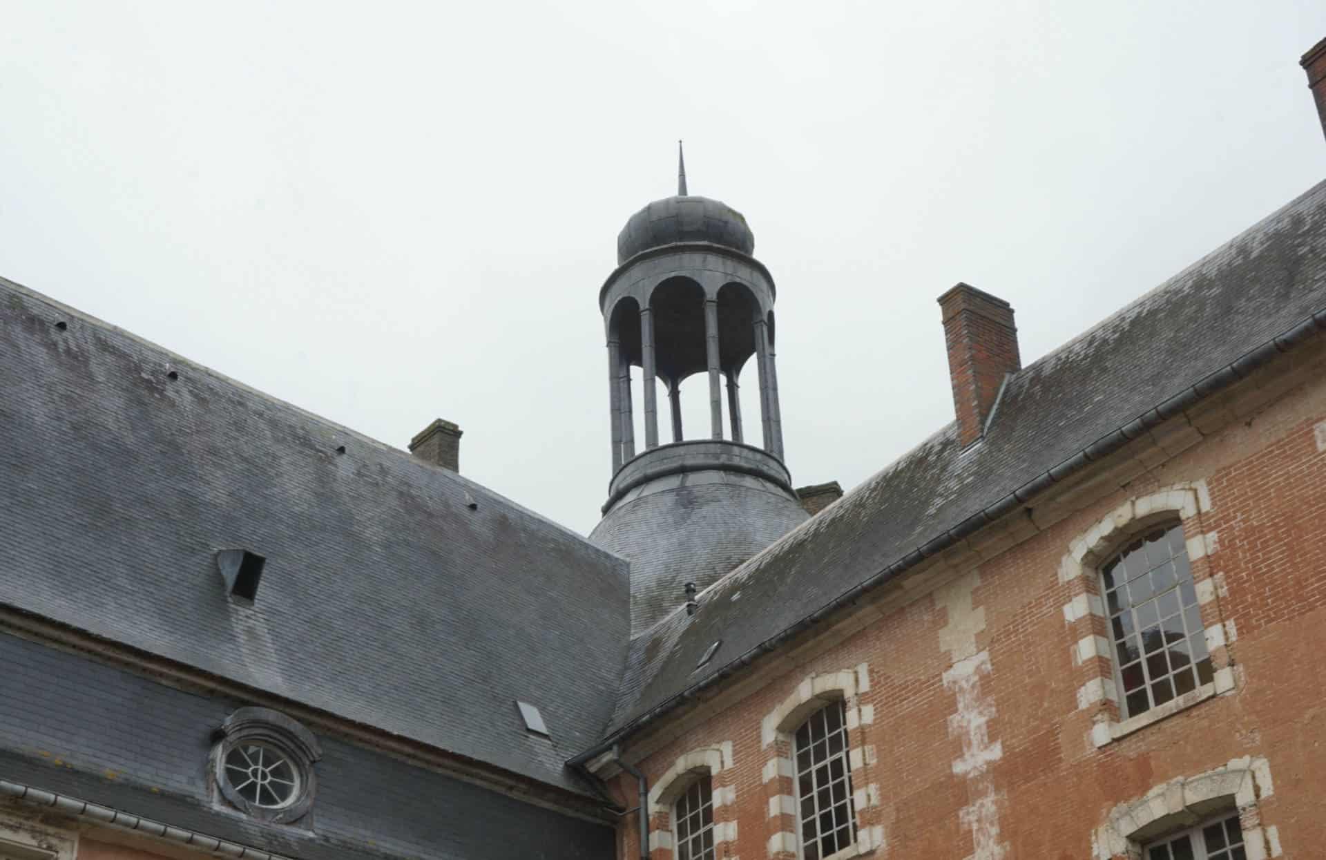 Visiting Chateau de Saint Fargeau f