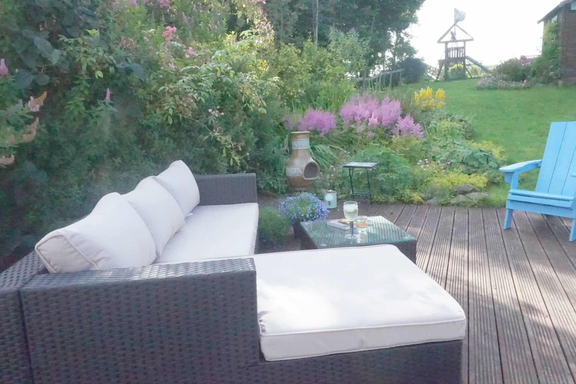 Creating A Family Chill Space In The Garden