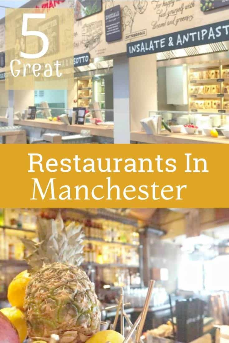 5 great restaurants to check out when easting in Manchester City Center