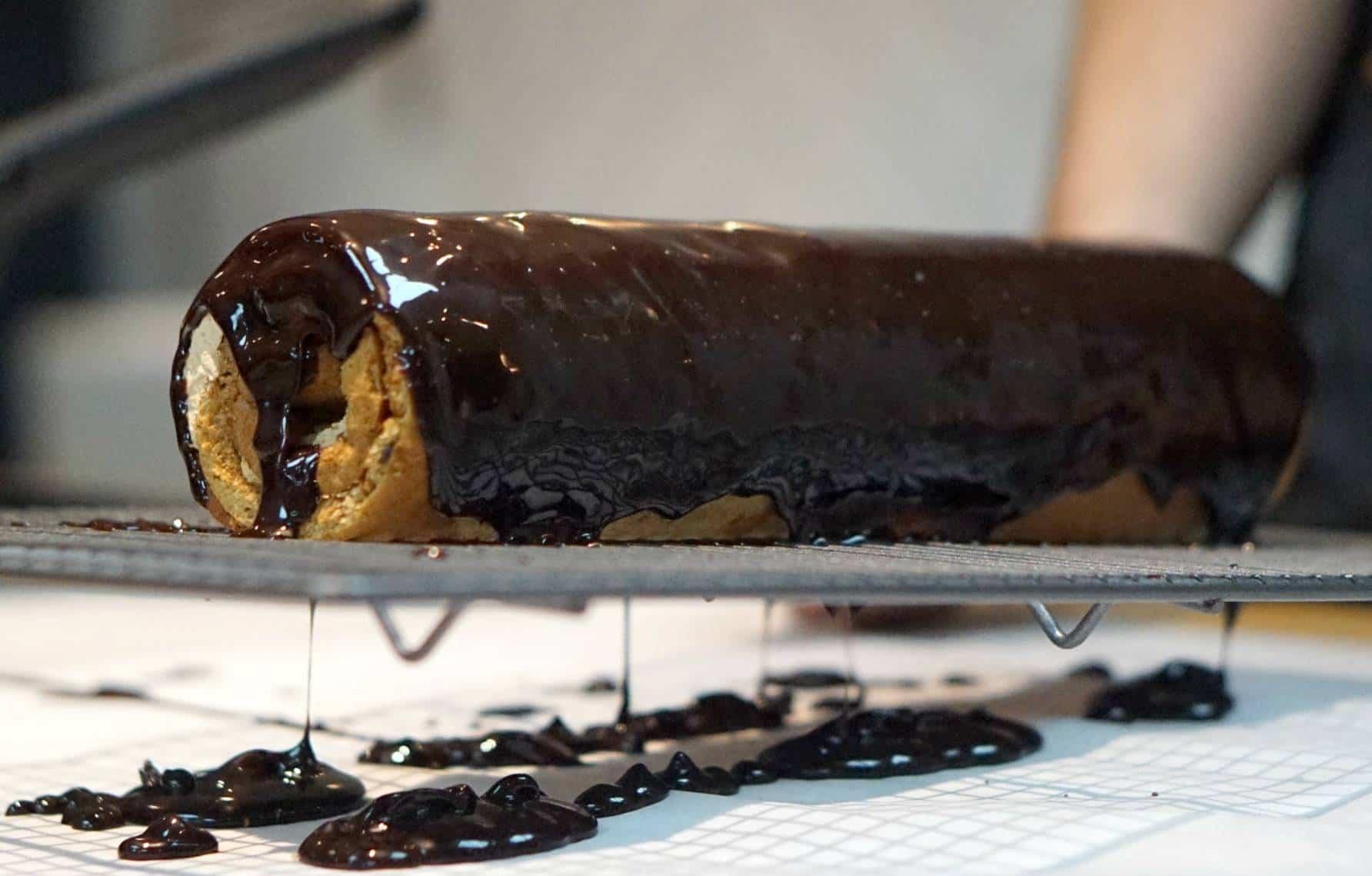 Making A Gingerbread Latte Swiss Roll in John Whaite's Kitchen