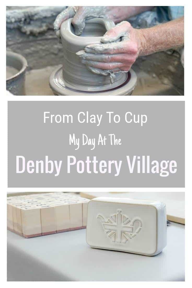 My Day at the Denby Pottery Village with a behind the scenes factory tour.