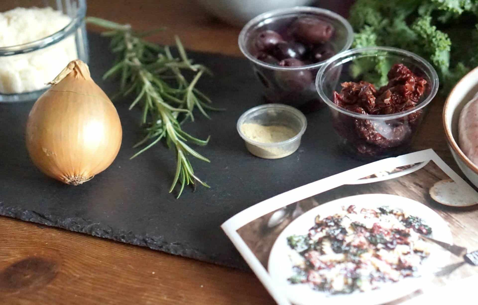 Recipes in a box from Riverford