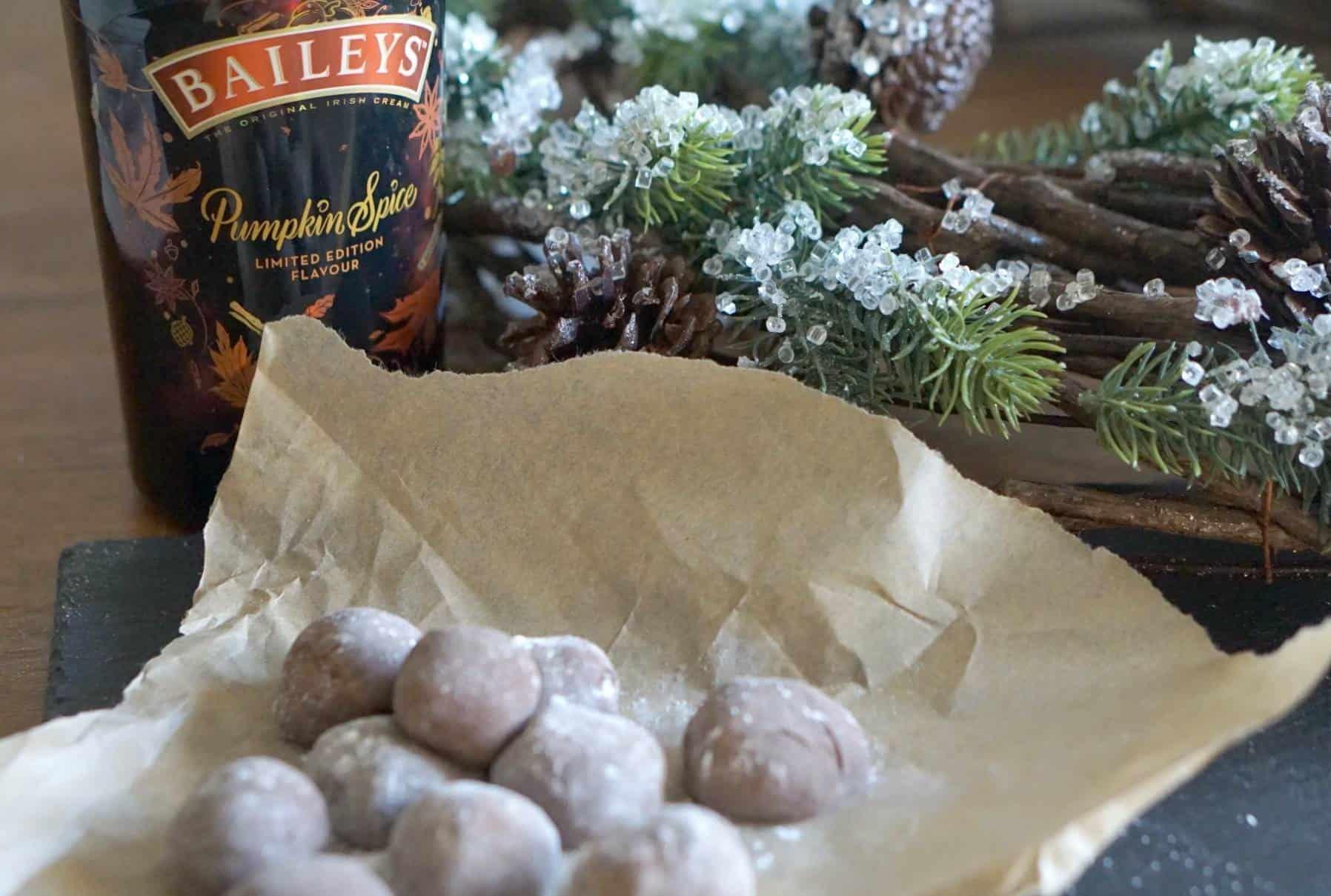 Pumpkin Spice Baileys Fudge