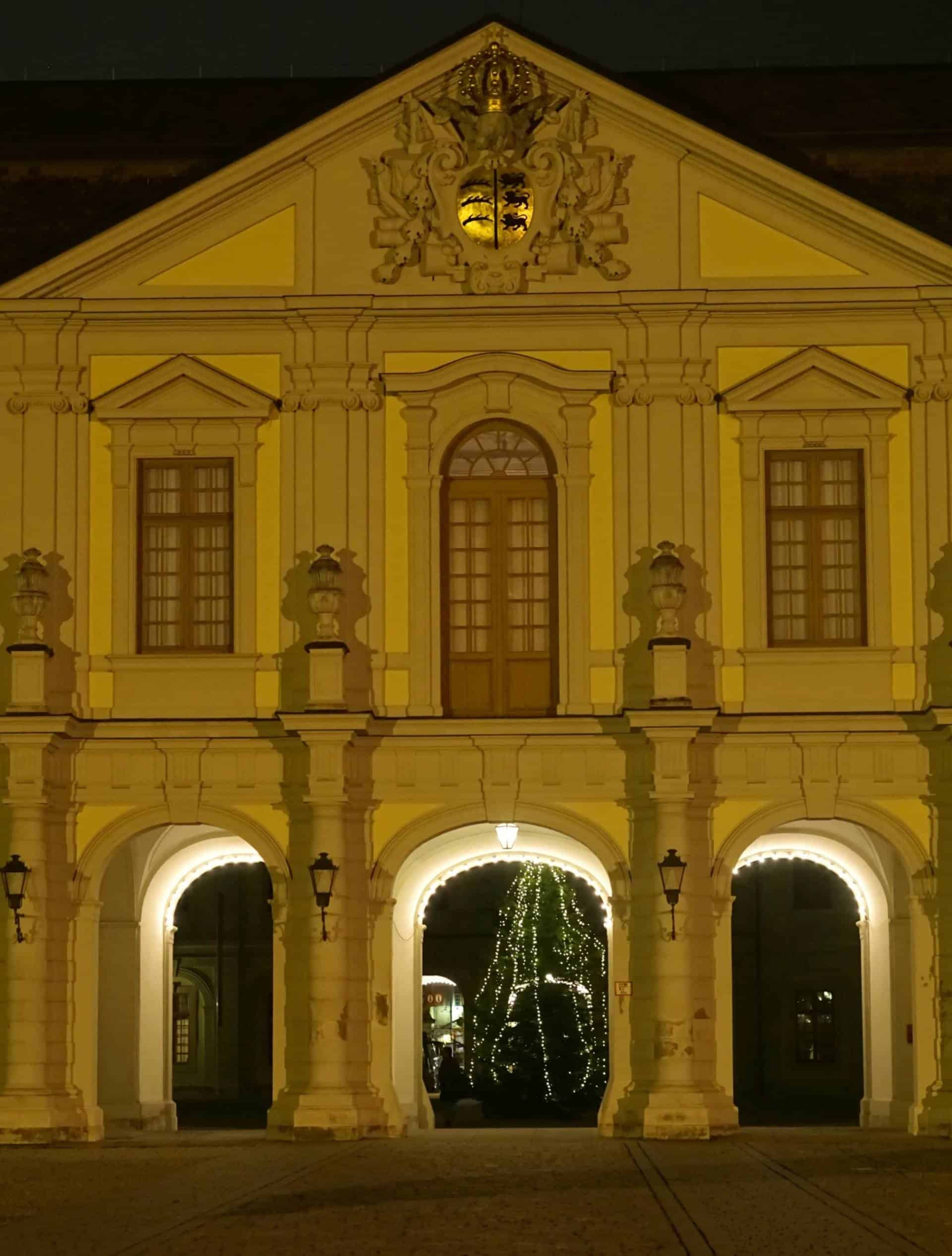 An Evening Walk Around Ludwigsburg Palace
