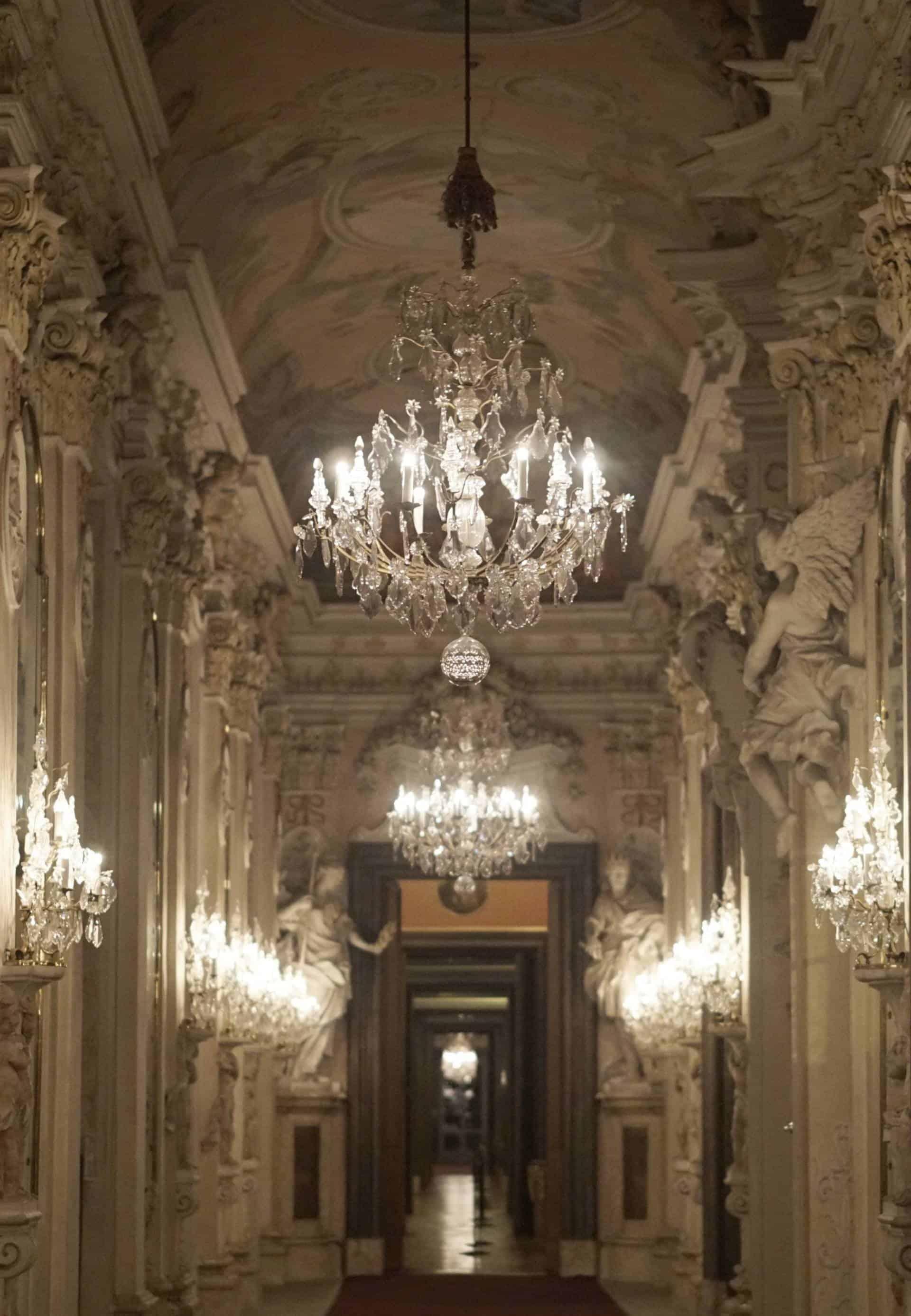 An Evening Walk Around Ludwigsberg Palace