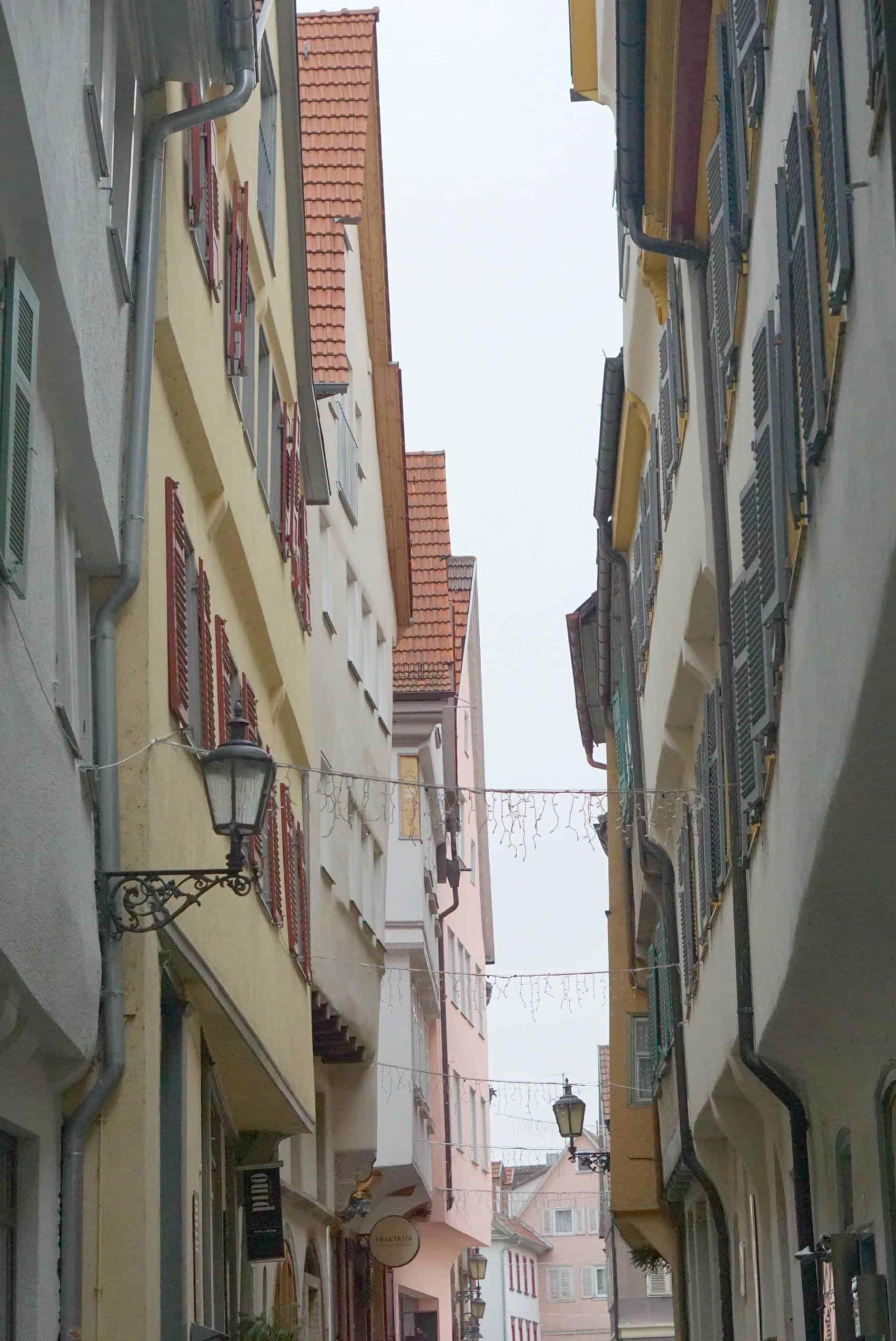 A Walk Around Esslingen In Germany