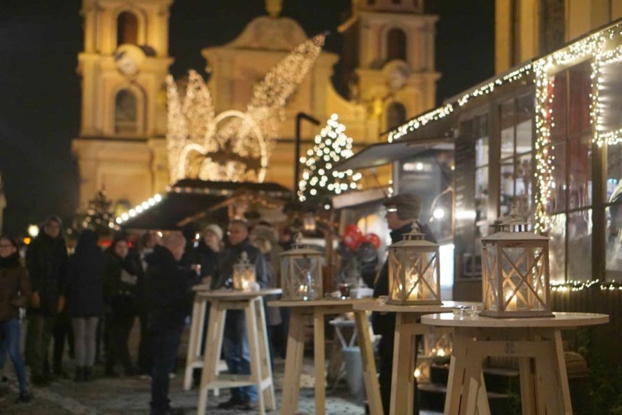 Christmas Markets In Stuttgart, Germany